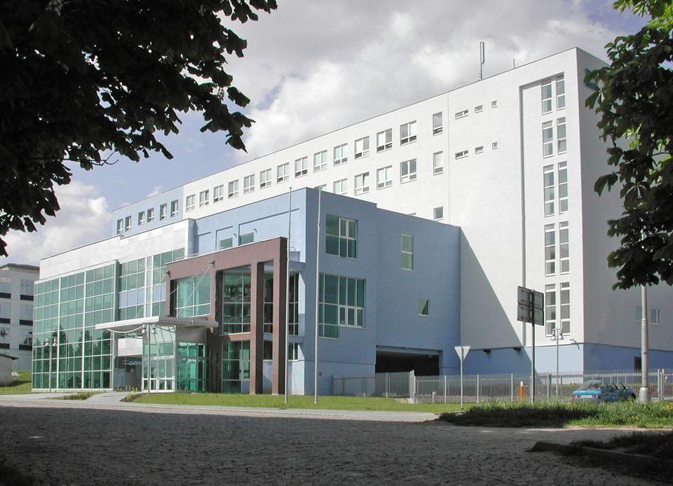 На фото здание Технического музея в городе Брно, Чехия